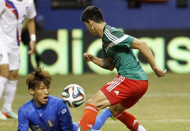 La Selección Mexicana sigue sus partidos de fogueo con cuatro equipos fuertes, como lo fue Corea del Sur, en su camino a la Copa del Mundo. (Archivo Notimex)