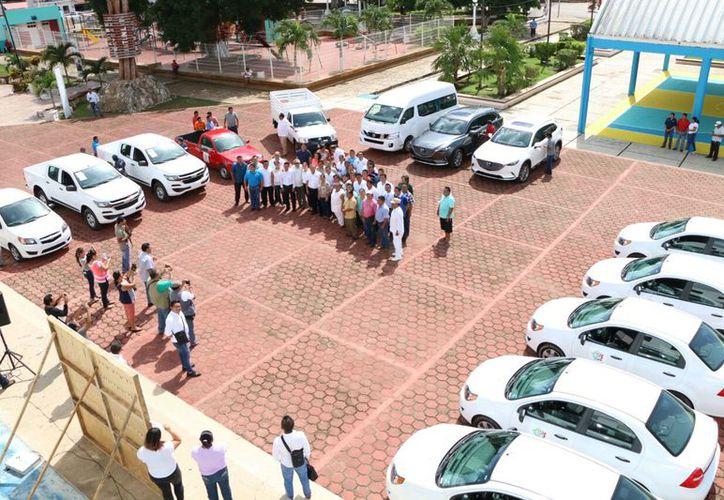 Se invirtieron más de dos millones de pesos para la adquisición de los vehículos. (Gloria Poot/SIPSE)