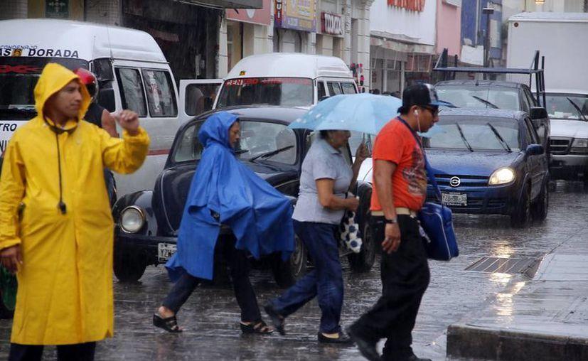 Al parecer las lluvias no cederán este fin de semana, a tomar sus precauciones. (SIPSE)