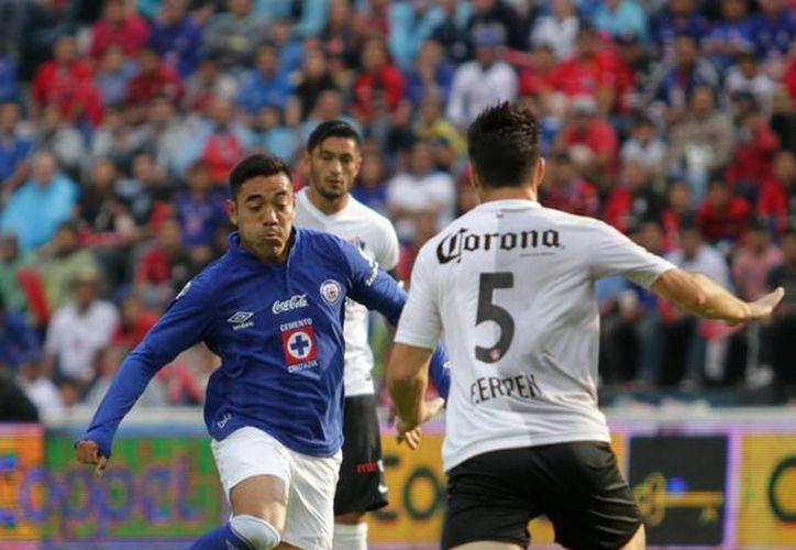 Cruz Azul y Atlas son dos de las escuadras que lucirán los colores del Tri en esta jornada del Clausura 2014. (Archivo Notimex)
