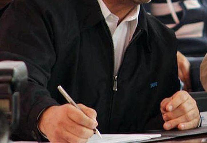 """""""Hemos logrado acuerdos importantes para continuar impulsando la excelencia y la calidad en el servicio de Telmex"""", dijo el director general de Telmex, Héctor Slim Seade. (Notimex)"""