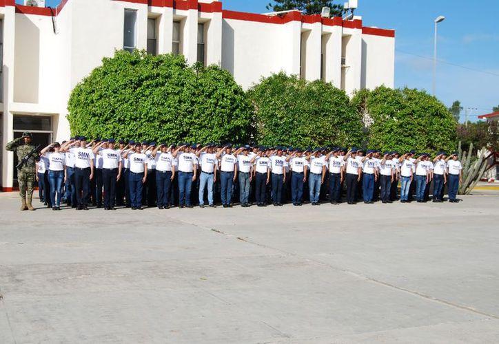 Los jóvenes recibirán instrucción cívica y militar. (SIPSE)