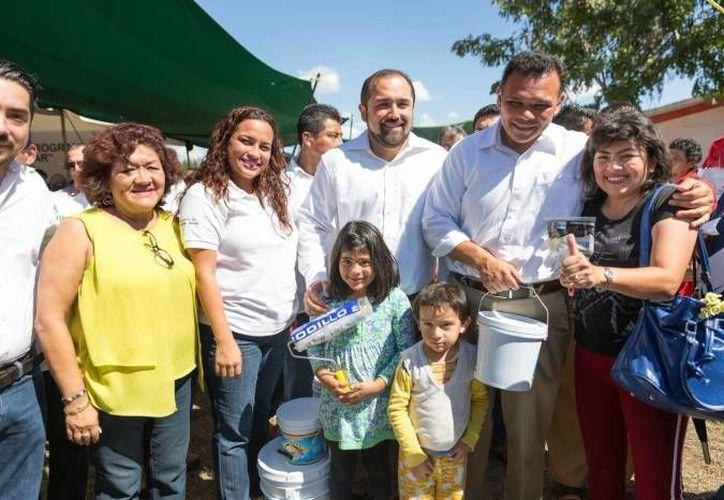 El gobernador Rolando Zapata estará este jueves en el fraccionamiento Ampliación Juan Pablo II para inaugurar un parque y un módulo. (SIPSE)