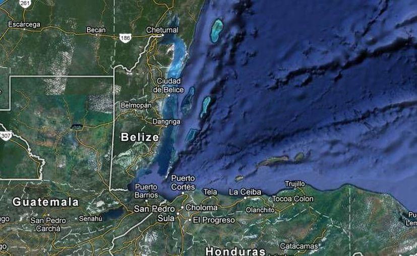 El sismo tendría lugar en una zona de baja sismicidad, porque Chetumal se encuentra asentada sobre la placa del Caribe. (Foto: ssn.unam.mx/)