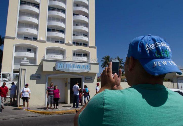 Esta es la zona de condominios de Mazatlán donde fue capturado 'El Chapo' Guzmán. (Notimex/Foto de archivo)