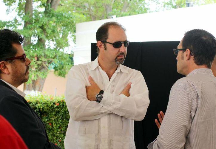 El actor Rodrigo Murray señaló que Mérida tiene grandes escenarios. (SIPSE)
