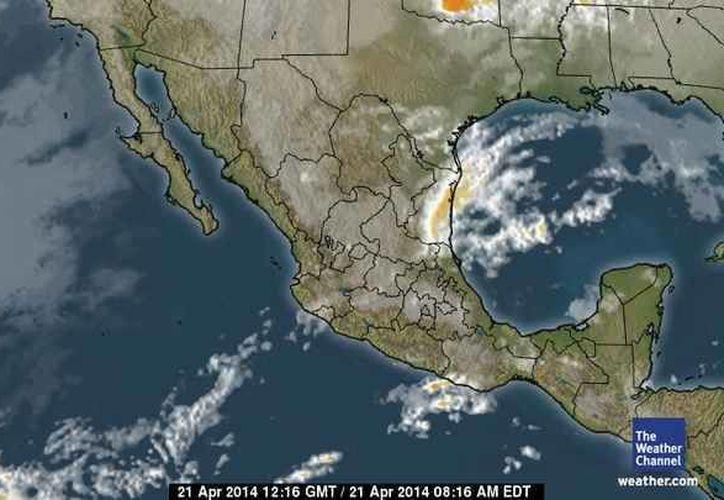La probabilidad de precipitación para Quintana Roo es de 10%. (Foto/The Weather Channel)