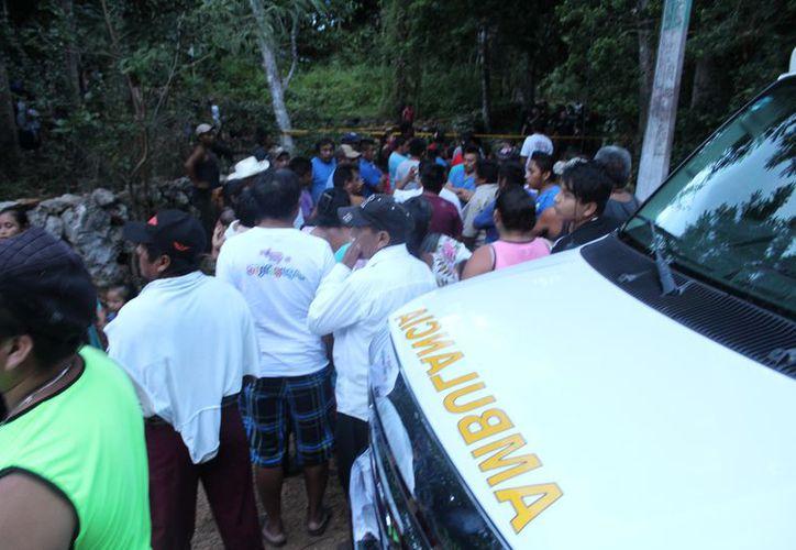 Las autoridades montaron un operativo de búsqueda y hallaron esta tarde el cadáver de la menor, al interior de un pozo. (SIPSE)