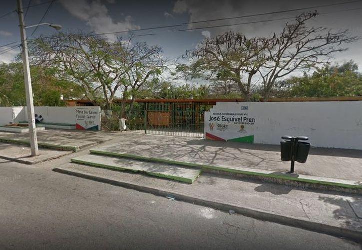 Revelan agresiones en la escuela secundaria federal 6 'José Esquivel Pren'. (Google Maps)