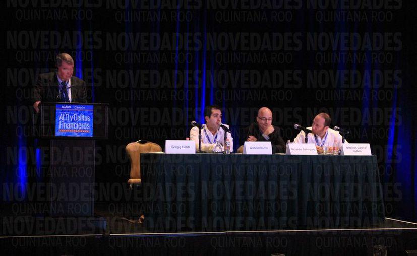 Realizan en Cancún conferencia anual de Latinoamericana sobre Delitos Financieros. (Luis Soto/SIPSE)