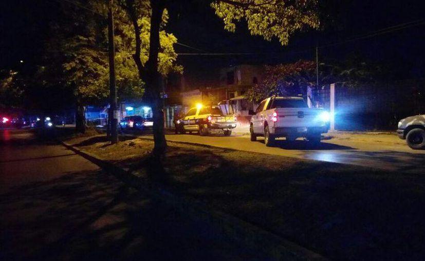 Las personas fueron atacadas cuando llegaban a su domicilio. (Eric Galindo/SIPSE)