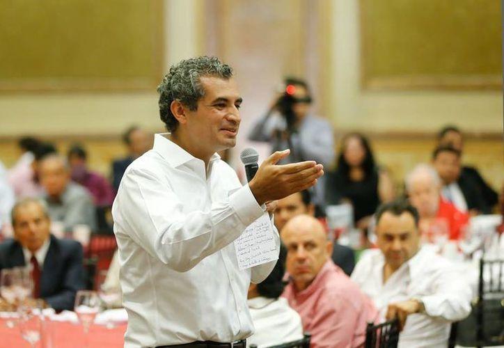 El presidente nacional del PRI, Enrique Ochoa Reza, dijo que la votación que se realizará es a favor de la ciudadanía. (facebook.com/EnriqueOchoaR)