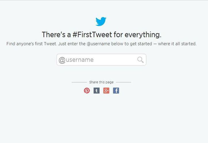 Para visualizar tus primeros tuits sólo hay que entrar a la dirección https://discover.twitter.com/first-tweet (discover.twitter.com)