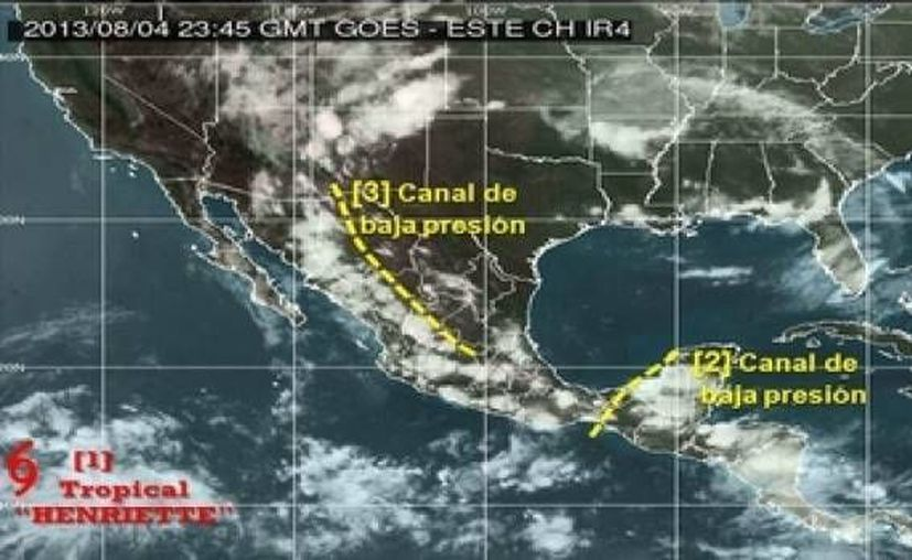 De acuerdo con el pronóstico, a las 19:00 horas del martes se ubicaría a dos mil 650 kilómetros al oeste-suroeste de Cabo San Lucas. (noticierostelevisa.esmas.com)