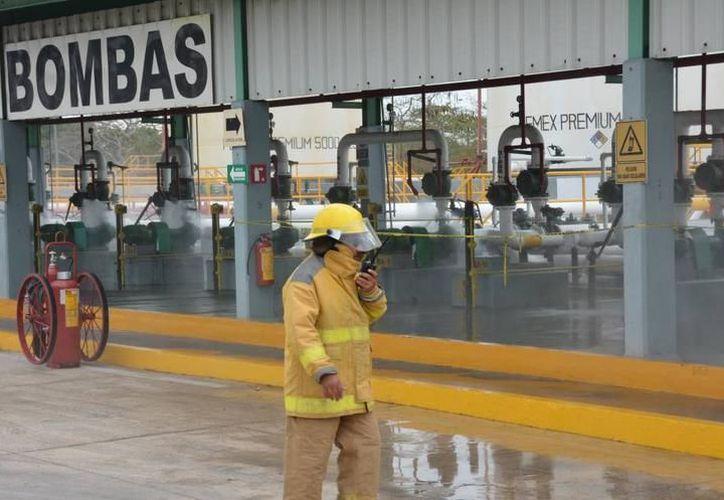Este viernes se realizarán dos simulacros en las terminales de Pemex en Mérida y Progreso. (Milenio Novedades)