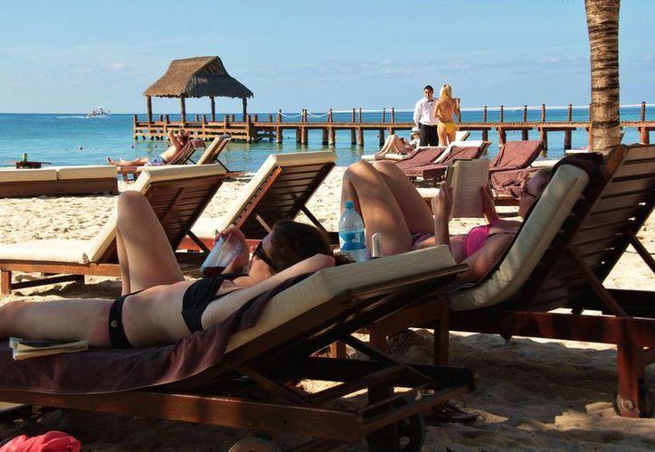 La ocupación hotelera registrada es más alta que la del año anterior. (Gustavo Villegas/SIPSE)