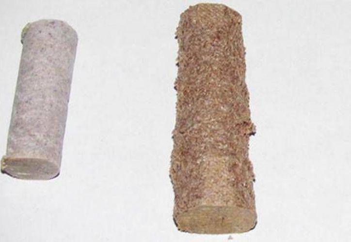 Para obtener la madera líquida se tiene que moler y fundir el PET, mezclarlo con aserrín y aditivos. (Conacyt)