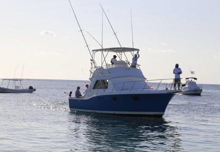La Dirección de Turismo calcula que llegarán unos 60 mil viajeros a Cancún durante la temporada del nado con tiburón ballena. (Luis Soto/SIPSE)