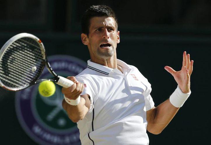 Djokovic aparecerá en el primer puesto de la clasificación mundial de tenistas. (AP)
