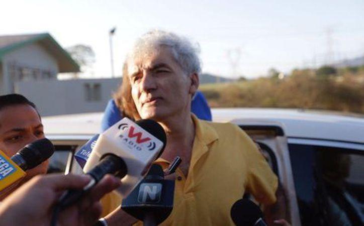 Mireles salió a los 8 de la mañana del centro penitenciario. (Milenio)