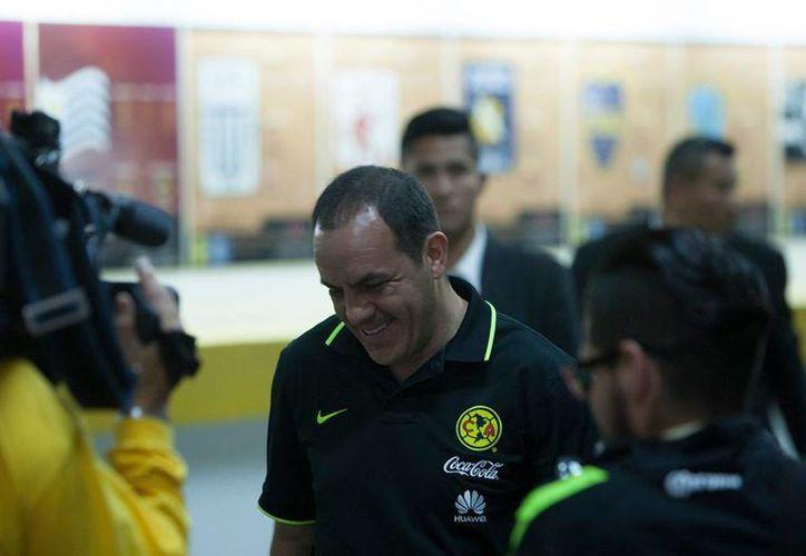 Cuauhtémoc Blanco no solamente brilló en el futbol mexicano por su talento, sino por su forma tan directa y sin tapujos al hacer declaraciones. (Facebook: América)