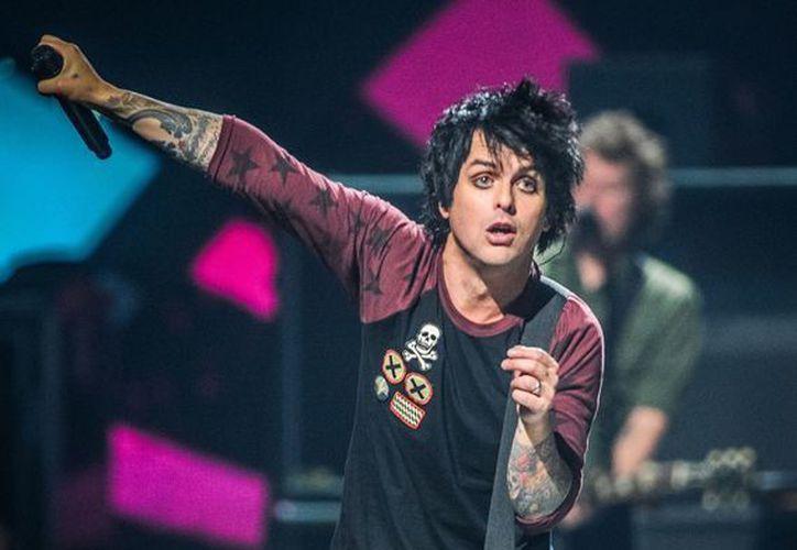 Billie Joe Armstrong de Green Day durante su concierto en el Festival Musical iHeart Radio en la Arena MGM Grand de Las Vegas en una fotografía de archivo del 21 de septiembre de 2012. (Agencias)