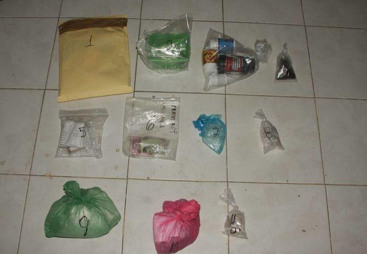 Continúa el aseguramiento de drogas en la ciudad. (Israel Leal/SIPSE)