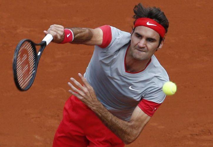 Federer solamente jugó en dos torneos en esta temporada. (AP)