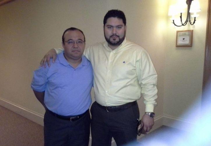 Mario Ceballos Bojórquez y Erick Arellano Hernández. (Marco Moreno/SIPSE)
