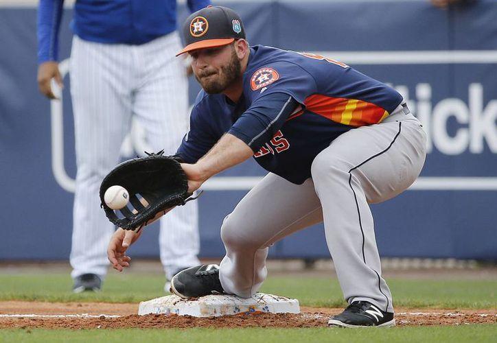 Los Astros de Houston sería uno de los equipos en jugar en México.(AP)