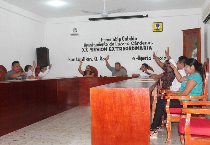 La propuesta de inversión se realizó durante la vigésima sesión extraordinaria de Cabildo. (Gloria Poot/SIPSE)
