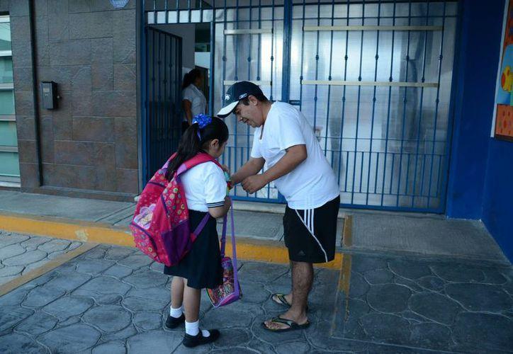Los horarios para confirmar serán desde el inicio de clases.  (Victoria González/SIPSE)