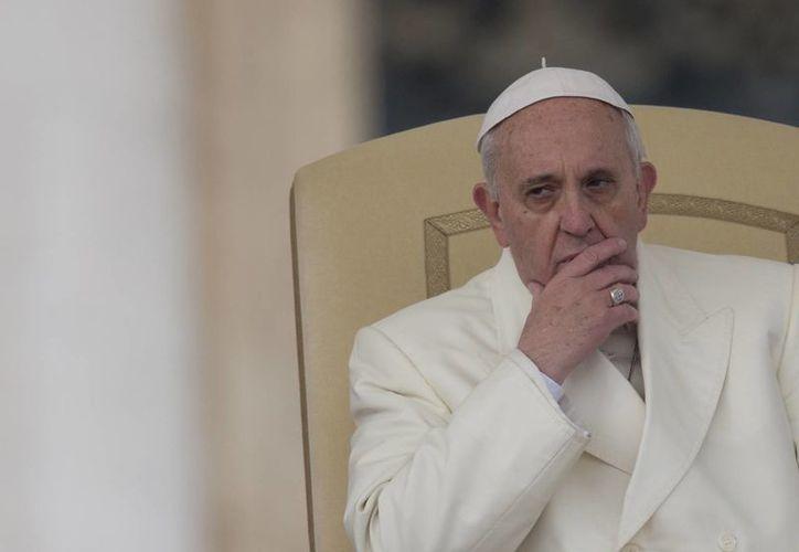 """""""Otra tentación de los que no tienen paciencia es  la omnipotencia de querer una cosa de inmediato"""", dijo el Pontífice. (Agencias)"""
