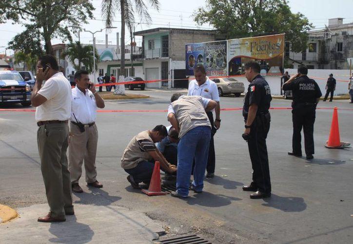 La investigación en torno al accidente continúa para conocer al probable responsable. (Harold Alcocer/SIPSE)