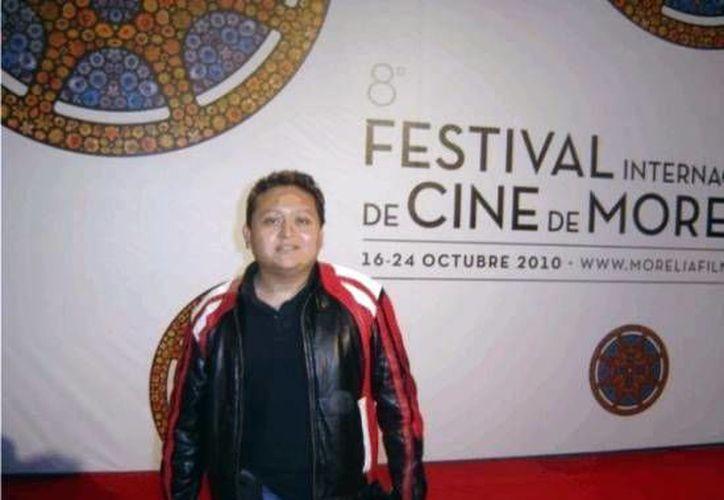 El yucateco MIguel Ventura destacó en el Festival Internacional de Cine de  Morelia en 2010. (Milenio Novedades)