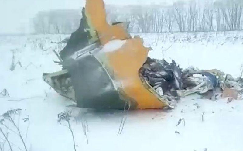 #AlertaADN Ningún sobreviviente tras caída de avión en Rusia
