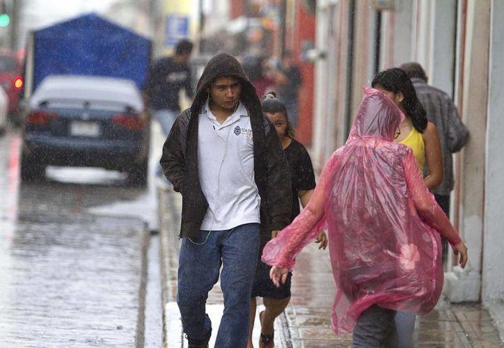 En el estado de Yucatán podrían registrarse lluvias aisladas durante las próximas horas. (Archivo/Notimex)