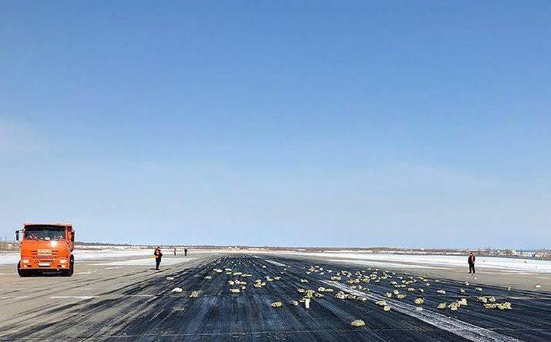 Un avión perdió 3.000 kilos de oro al despegar en Siberia