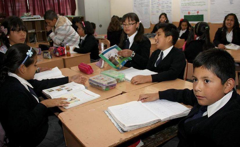 Con sobredemanda 40 escuelas del estado. (SIPSE)