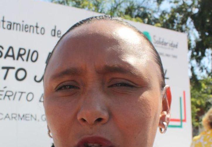 Cristina Torres Gómez, secretaría general del Ayuntamiento, reconoce faltas de los elementos policíacos. (Alida Martínez/SIPSE)
