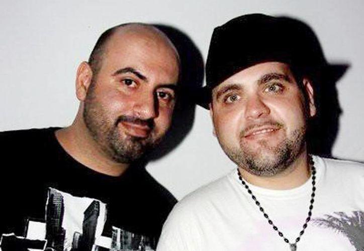 Imagen de Vincenzo Nicolazzo y Valentino Colavecchia, quienes integran el dúo mejor conocido como 'The Junkies'. (Milenio Novedades)