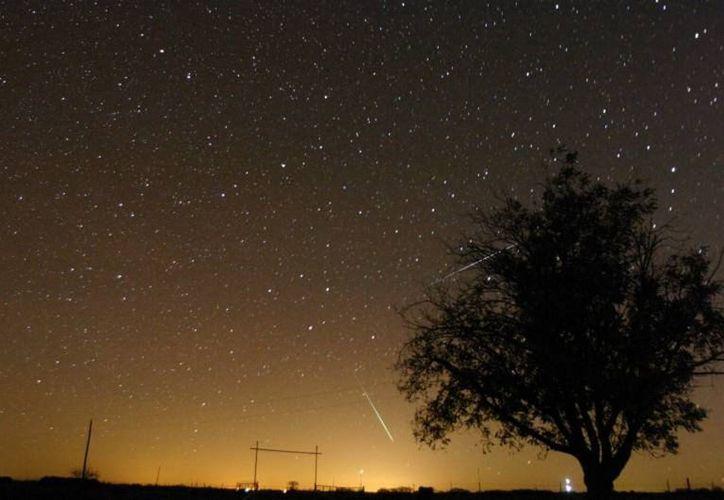 El fenómeno astronómico también es conocido como la 'lluvia de la Virgen'. (ciencia.nasa.gov)