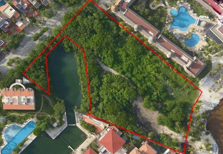 El centro de hospedaje se pretende edificar sobre un terreno de 1.49 hectáreas. (Octavio Martínez/SIPSE)