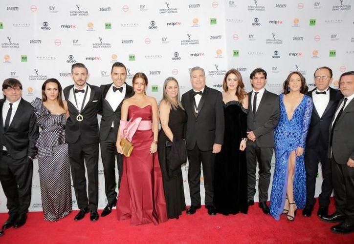 Los productores mexicanos subieron al podio para recibir el premio. (Quién)