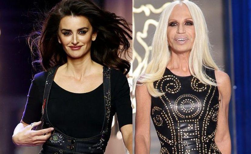 La actriz española Penélope Cruz  dará vida a la diseñadora de moda Donatella Versace.  (latercera.com)