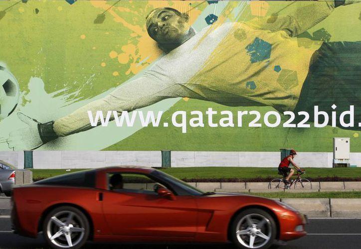 El presidente de la FA pidió quitarle a Qatar la sede del torneo. (Foto: Agencias)
