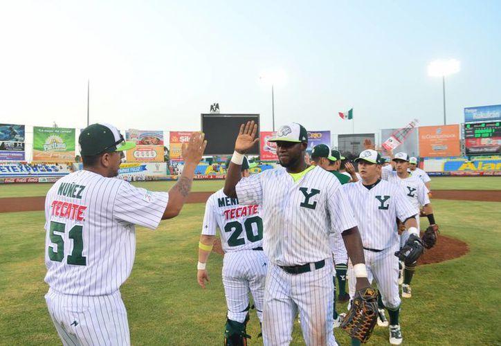 Leones de Yucatán es el equipo con mejor marca en gira esta campaña. (Milenio Novedades)