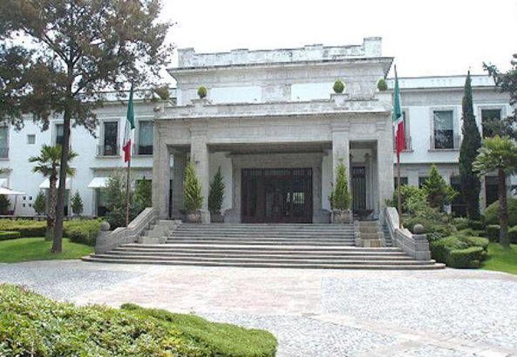 El nombre de la Residencia Oficial de Los Pinos, en la aplicación Google Maps, cambió a 'Residencia Oficial de la Corrupción'. (Archivo/Agencias)