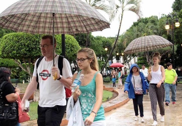 Existe posibilidades de lluvias aisladas en gran parte de la Península de Yucatán. (Archivo SIPSE)