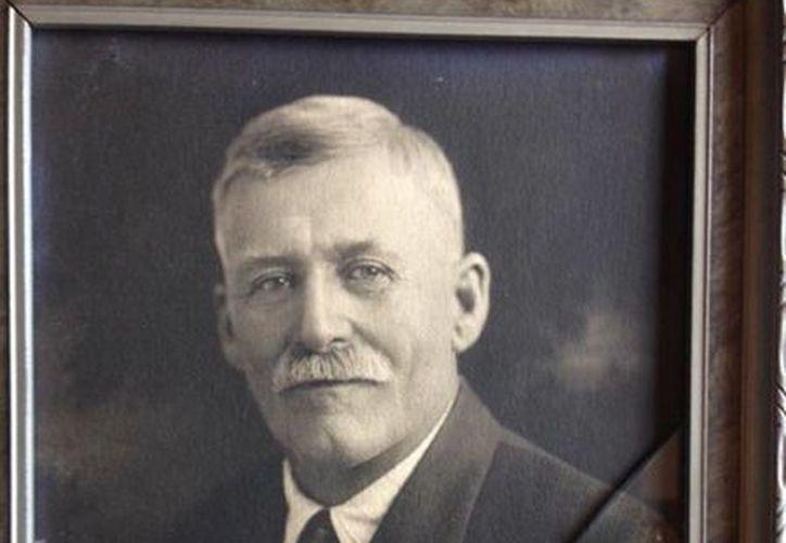Imagen de Marvin A. Clark, quien desapareció en octubre de 1926. (Agencias)